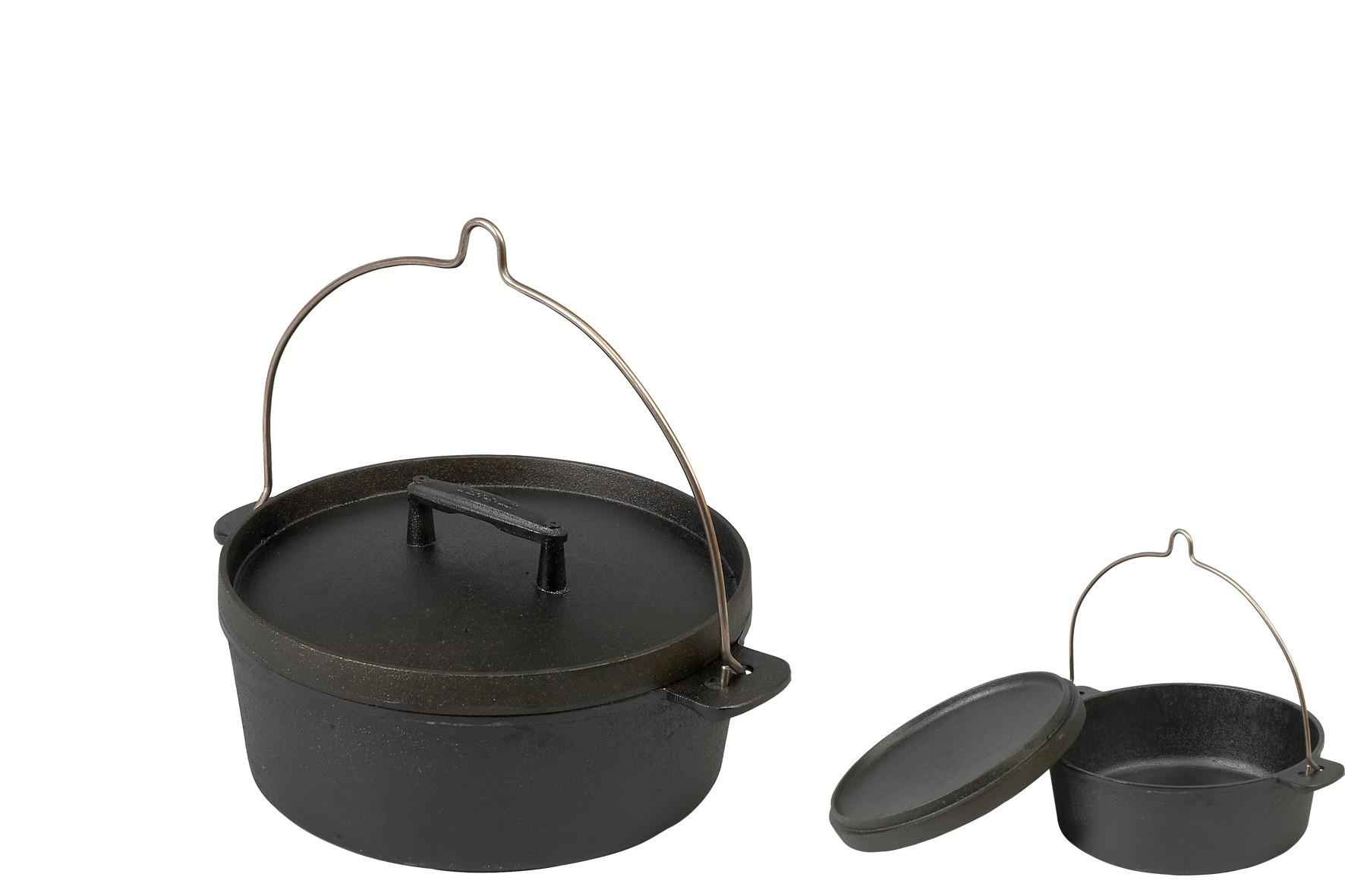 cocotte en fonte avec anse couvercle fonte skeppshult