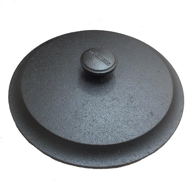 Couvercle fonte diam.28 cm avec bouchon fonte