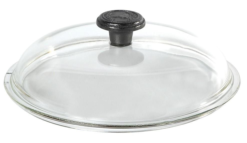 Couvercle Pyrex diam.24 cm avec poignée fonte