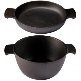 cocotte avec couvercle en fonte skeppshult 3 litres
