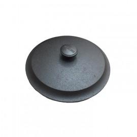 Couvercle fonte diam.24 cm avec bouchon fonte