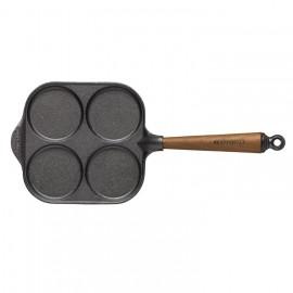 poele en fonte blinis et pancake